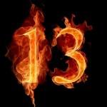 kiêng kỵ số 13