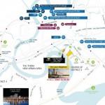 Phân tích vị trí dự án One Verandah Mapletree Quận 2