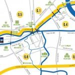Vị trí Felisa Riverside Bến Bình Đông Quận 8 - Hotline tư vấn 0868565583