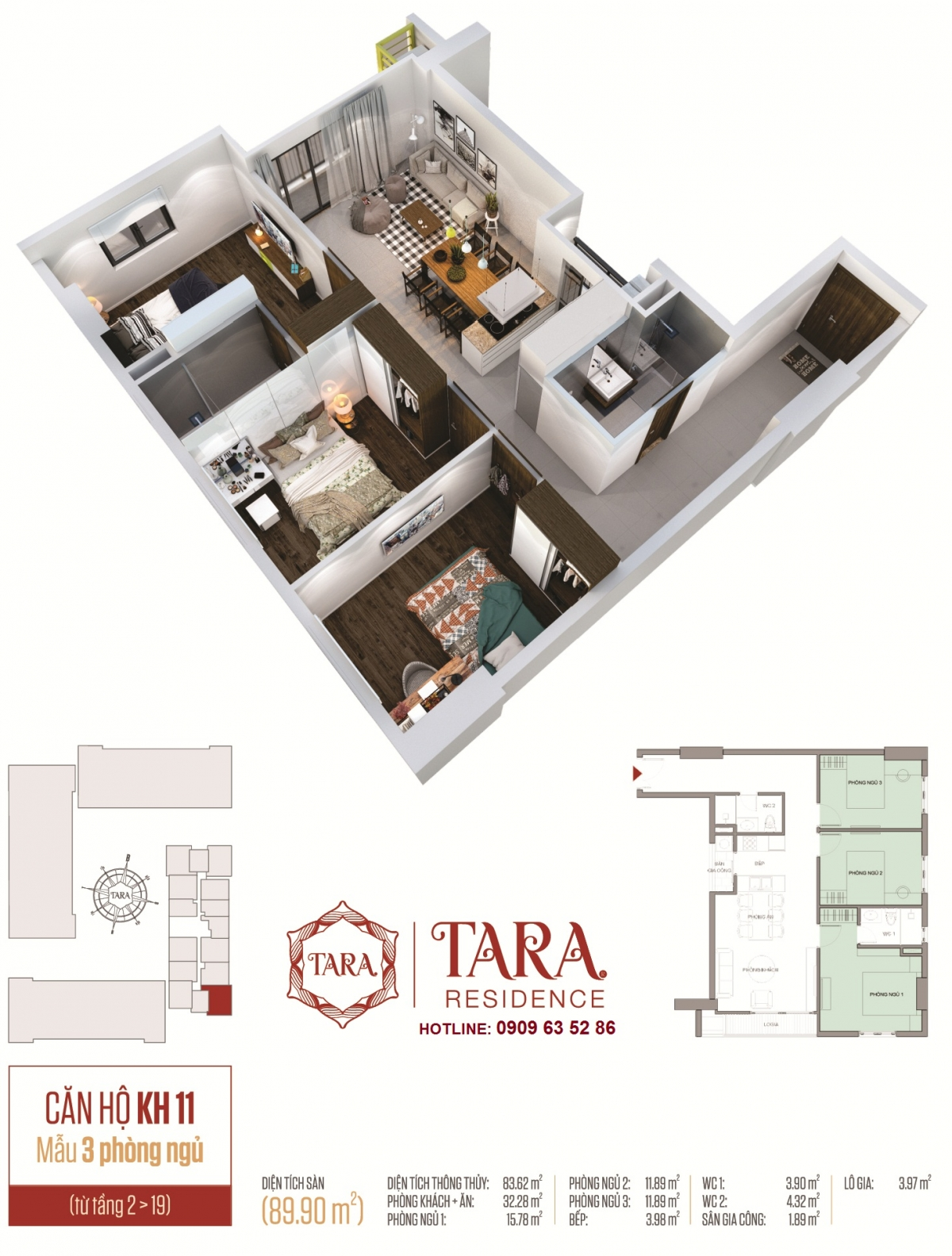 dự án căn hộ Tara Residence