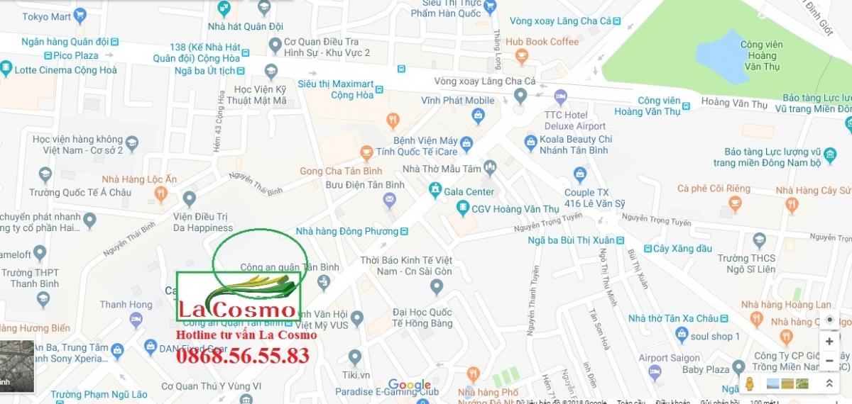 Vị trí dự án La Cosmo - Thông tin Chủ Đầu Tư An Gia Hưng - Hotline: 0868565583