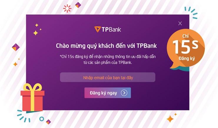 TP Bank hỗ trợ vay High Intela Lãi Suất Ưu Đãi