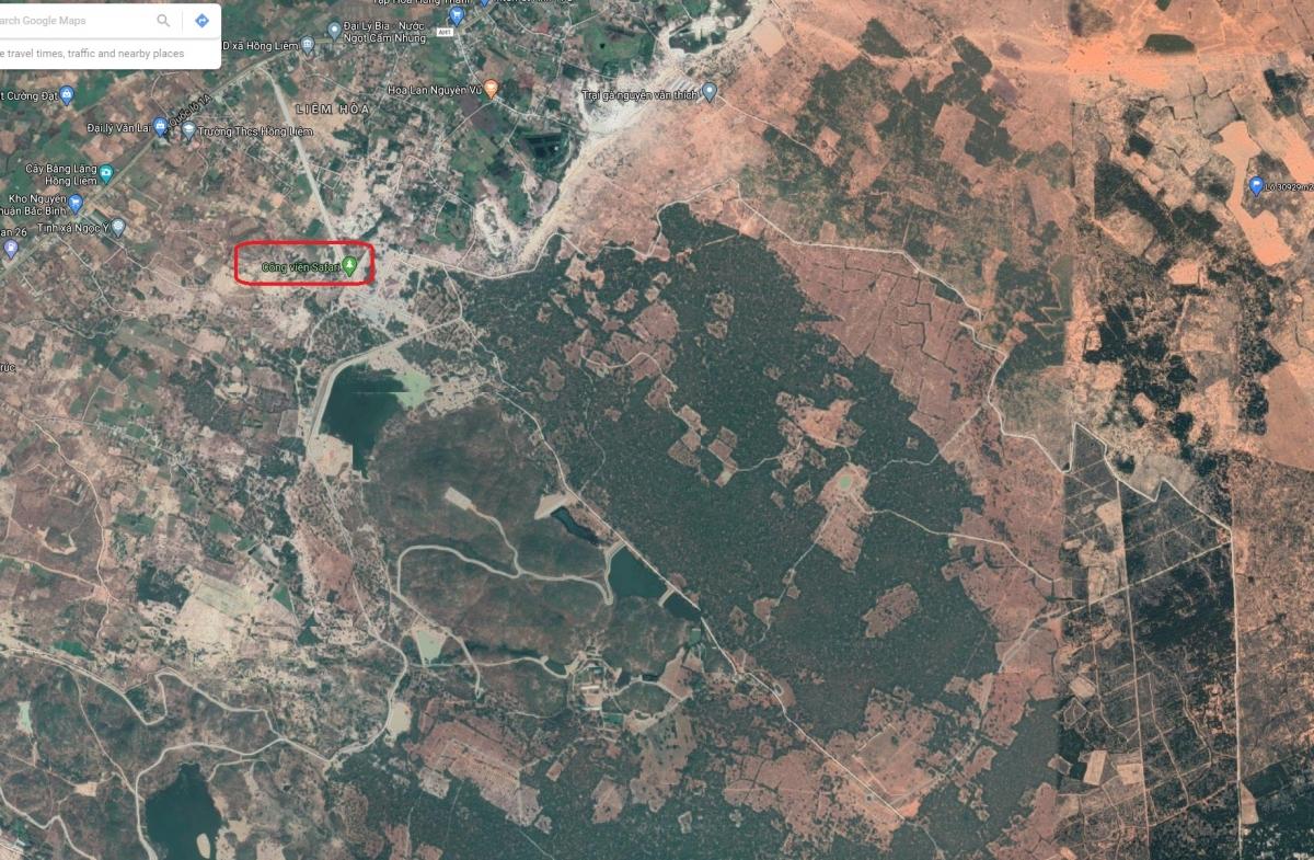 khu du lịch safari Bình Thuận