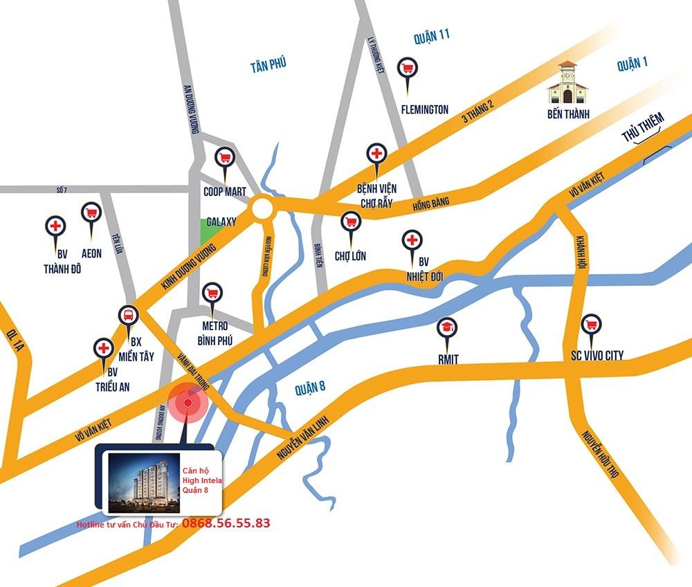 Vị trí dự án High Intela - Hotline dự án căn hộ High Intela Quận 8 0868.56.55 (11)