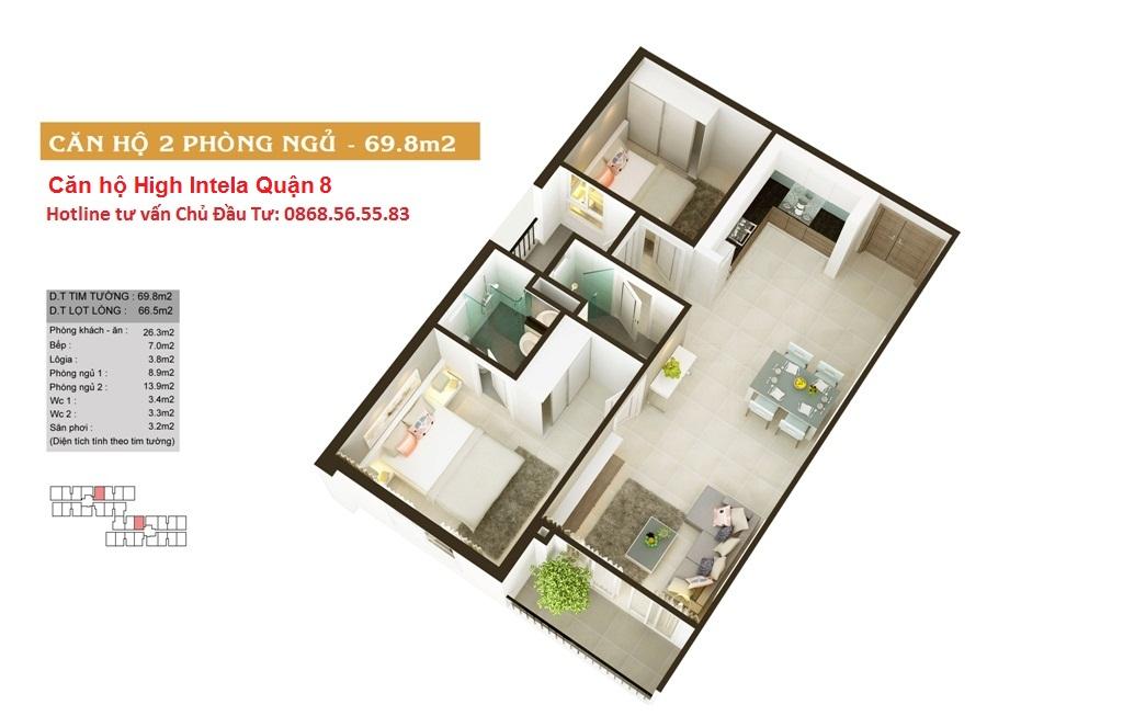 Hotline dự án căn hộ High Intela Quận 8: 0868.56.55.83