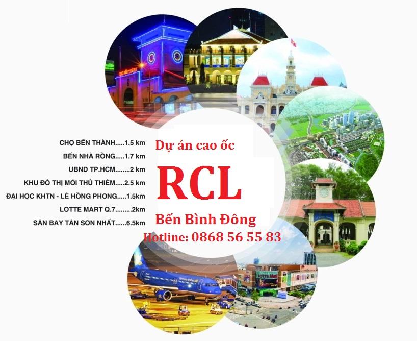 RCL Bến Bình Đông - Hotline tư vấn Chủ đầu tư: 0868 56 55 83