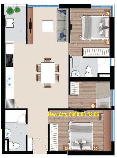 căn hộ chung cư New City Quận 2