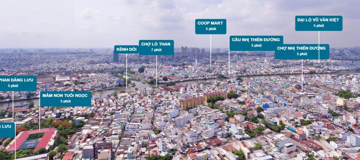 Phân tích thiết kế Block Đại Nam dự án Tara Residenece