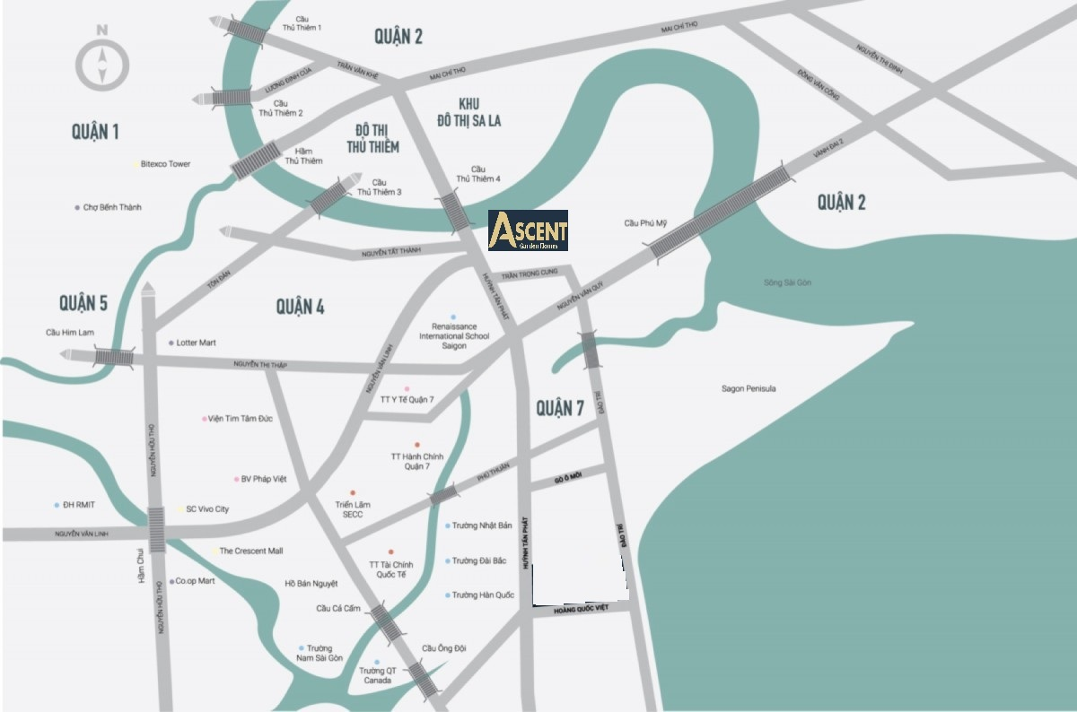 Ascent Garden Homes Quận 7 - Hotline: 0868565583