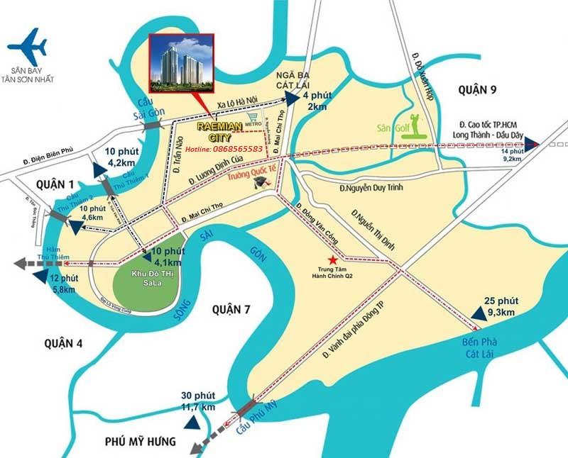 Vị trí Reamian Galaxy City- Liên hệ Chủ Đầu Tư: 0868565583