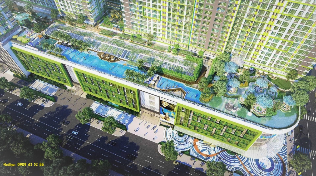 dự án căn hộ Topaz Elite quận 8