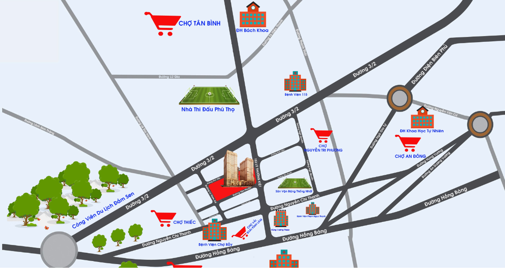OfficeTel Tân Phước Plaza