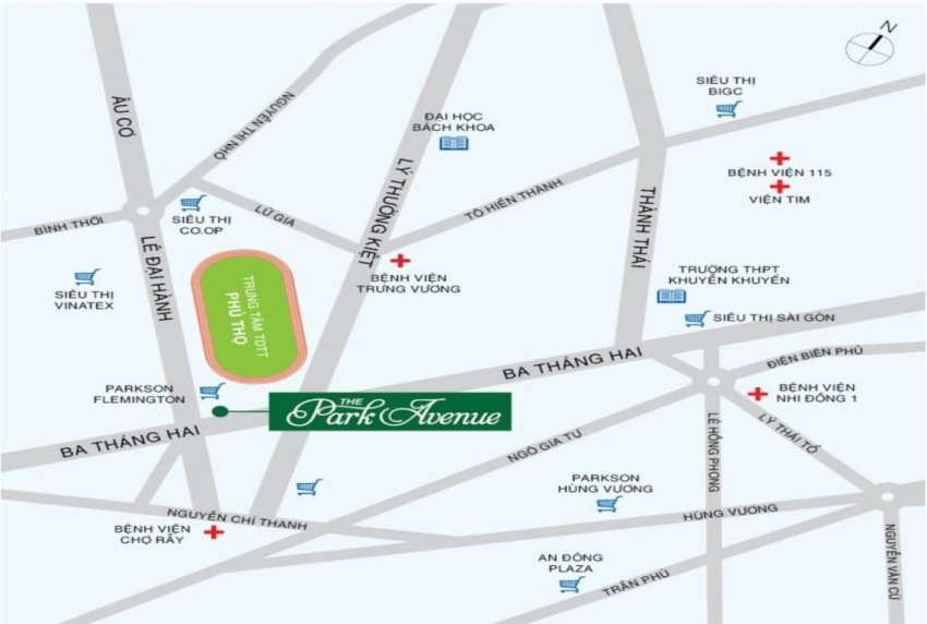 OfficeTel The Park Avenue Quận 11 - Tập Đoàn Novaland